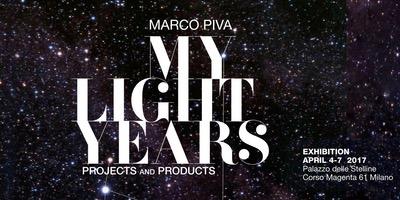 My Light Years, Marco Piva al Fuorisalone 2017 parla di Luce