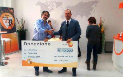 Si conclude in beneficenza la corsa di Testo Italia