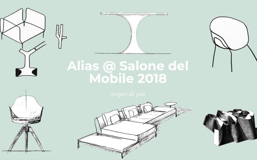 Tutti i motivi per visitare Alias al Salone del Mobile 2018