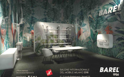 SIMONEMICHELIe BARELal Salone del Mobile 2018