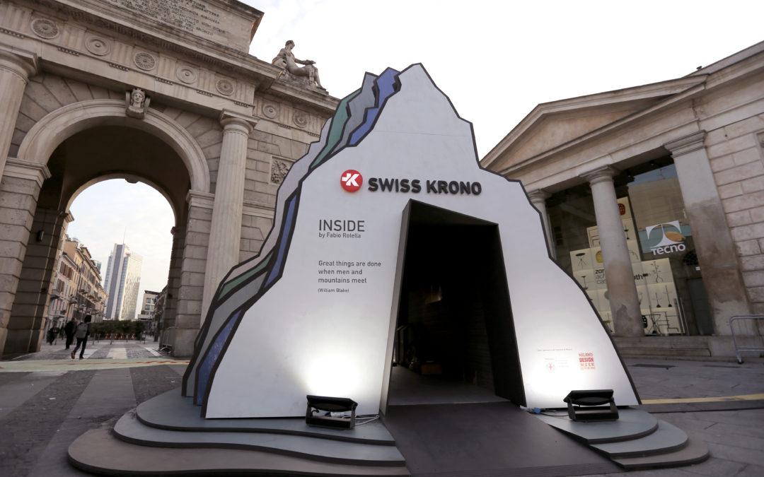 Fabio Rotella racconta Swiss Krono al Fuorisalone