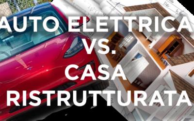 Auto Elettrica VS Casa Ristrutturata